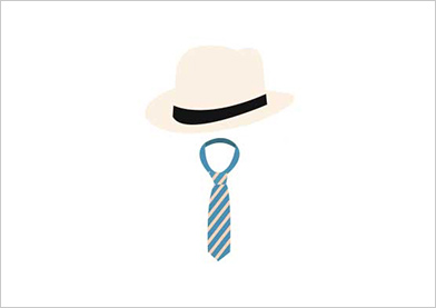 ネクタイ・帽子